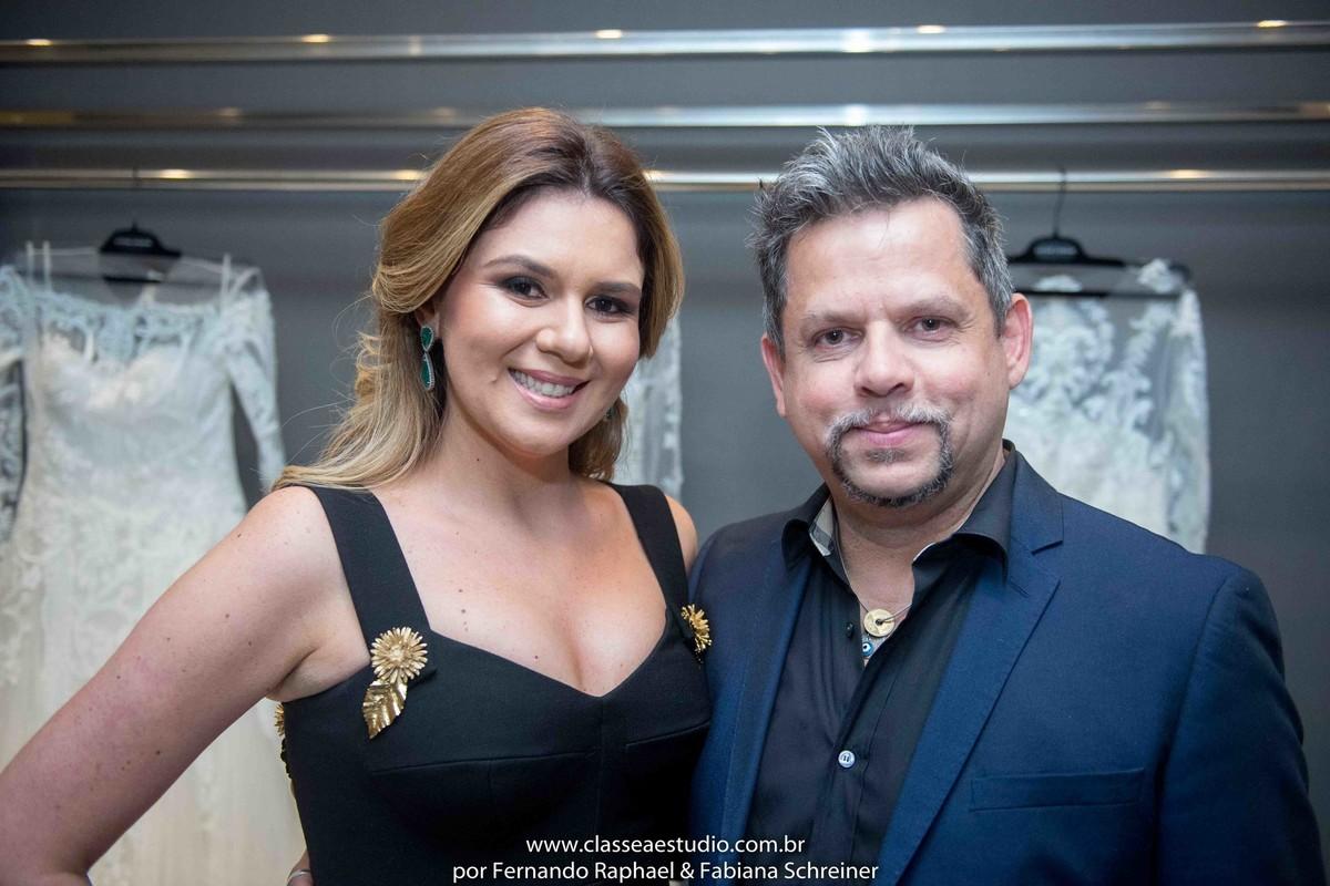 Mary Mansur e Henrique Melo