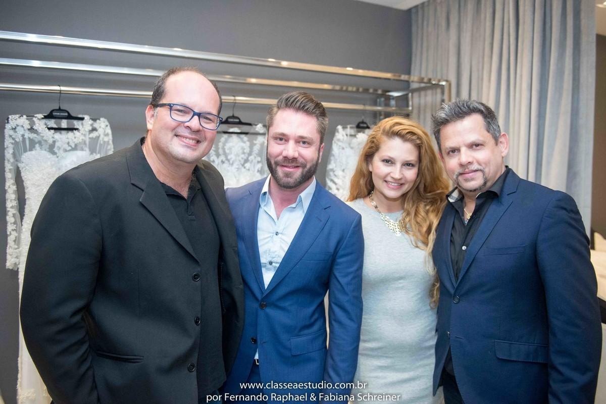 Fernando Raphael, Lucas Anderi e Fabiana Schreiner