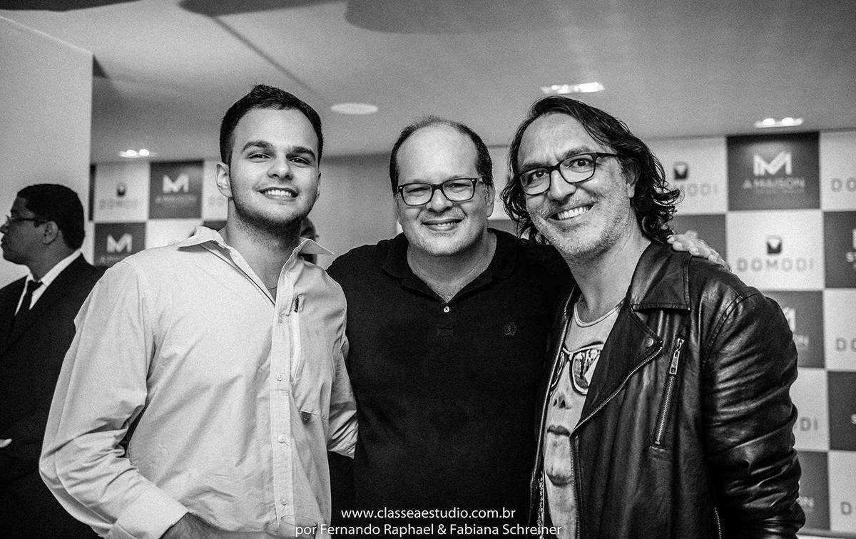 Nestor Madenes, Fernando Raphael e Matheus Sisnando