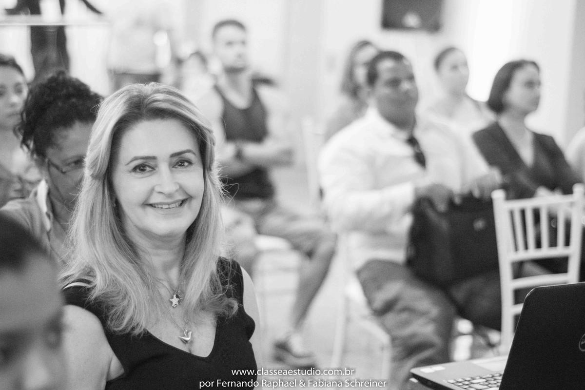 Vânia Coutinho no workshop para cerimoniais wedding day