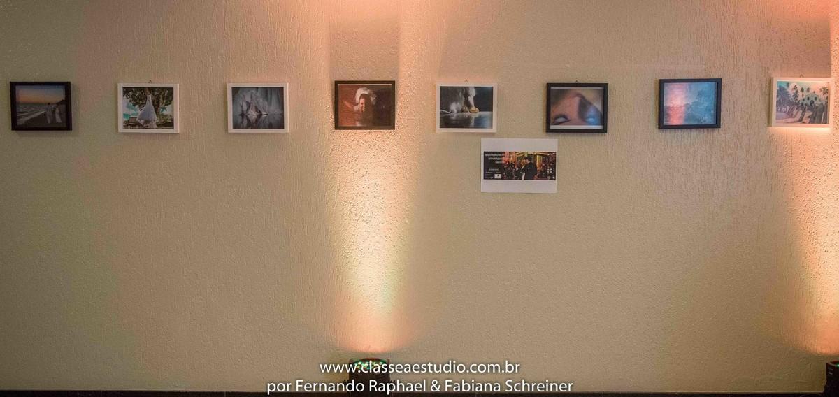 """Exposição fotográfica """"O casamento dos sonhos"""" de Fernando Raphael e Fabiana Schreiner com Claudia Matarazzo e Mario Ameni no salão de noivas e festas wedding day"""