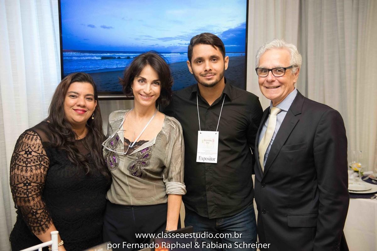 Lounge da Teik Brasil Filmes com Claudia Matarazzo e Mario Ameni no salão de noivas e festas wedding day