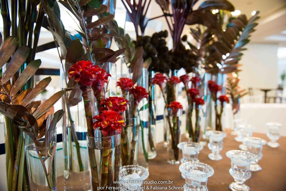 Decoração da Florata no salão de noivas e festas wedding day