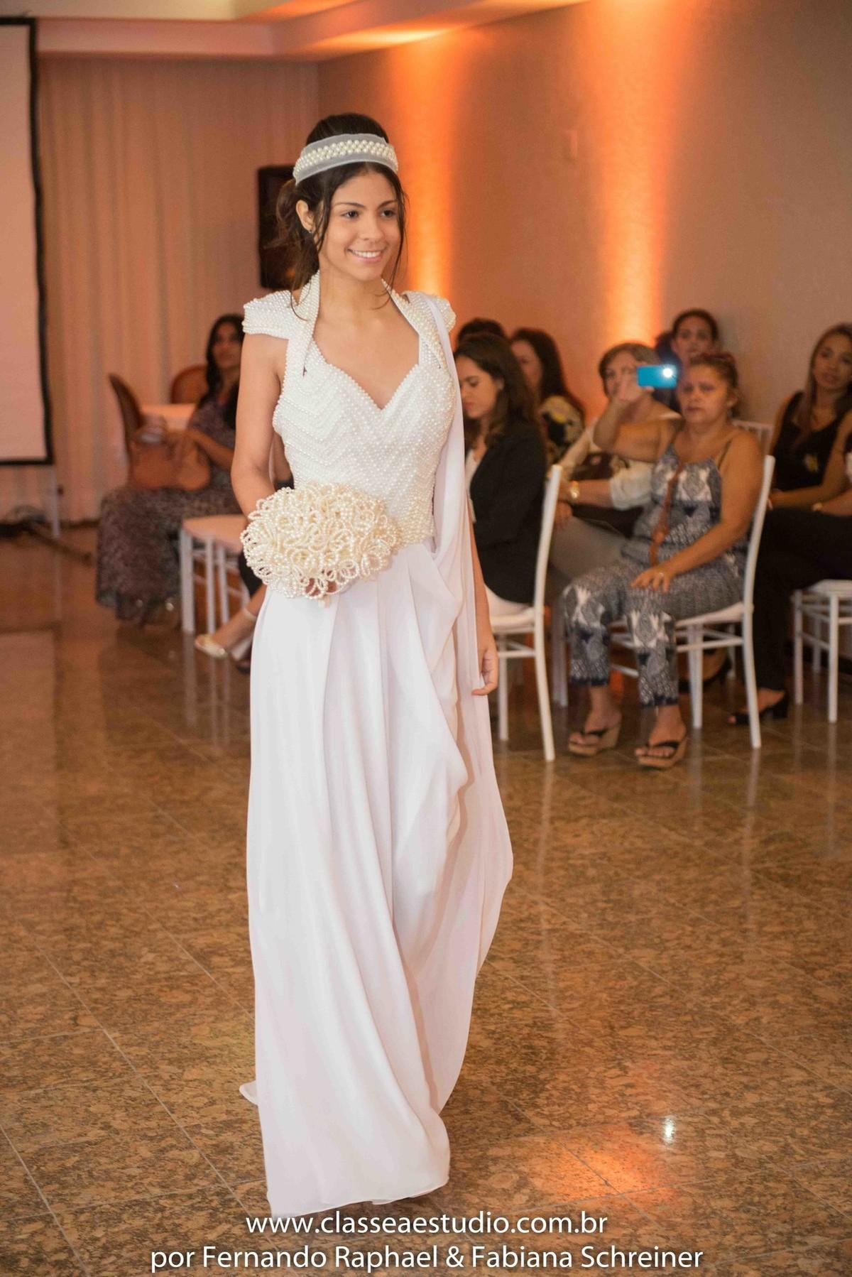 desfile de noivas do estilista Jan Souza