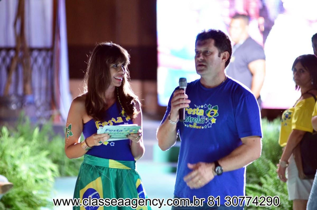 Jo e Alcindo Marsaro na Festas das estrelas da Rommanel