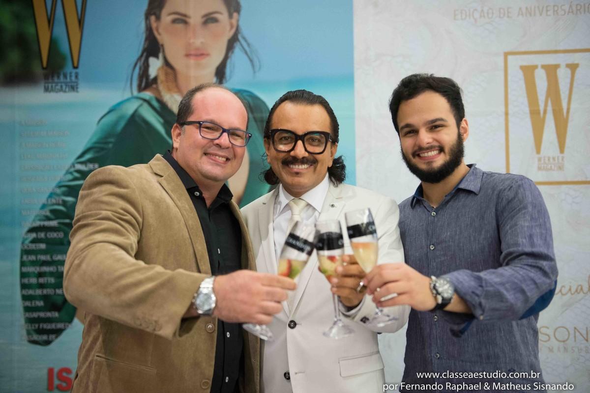 Fernando Raphael, augusto Werner e Matheus Sisnando
