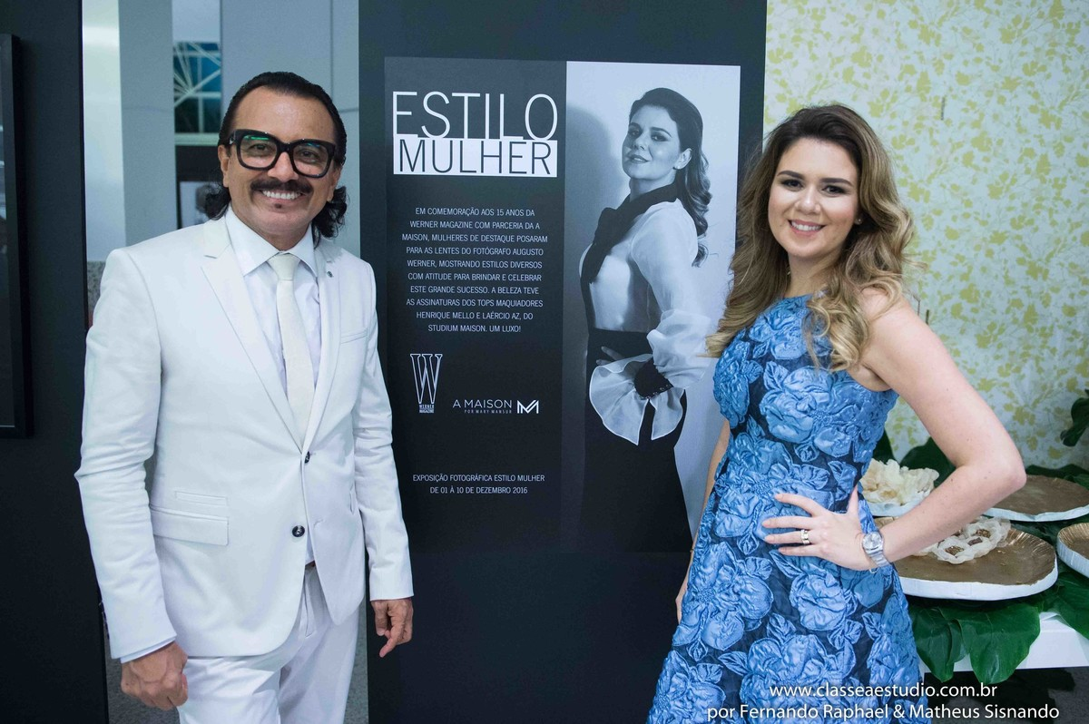 Augusto Werner e Mary Mansur A Maison