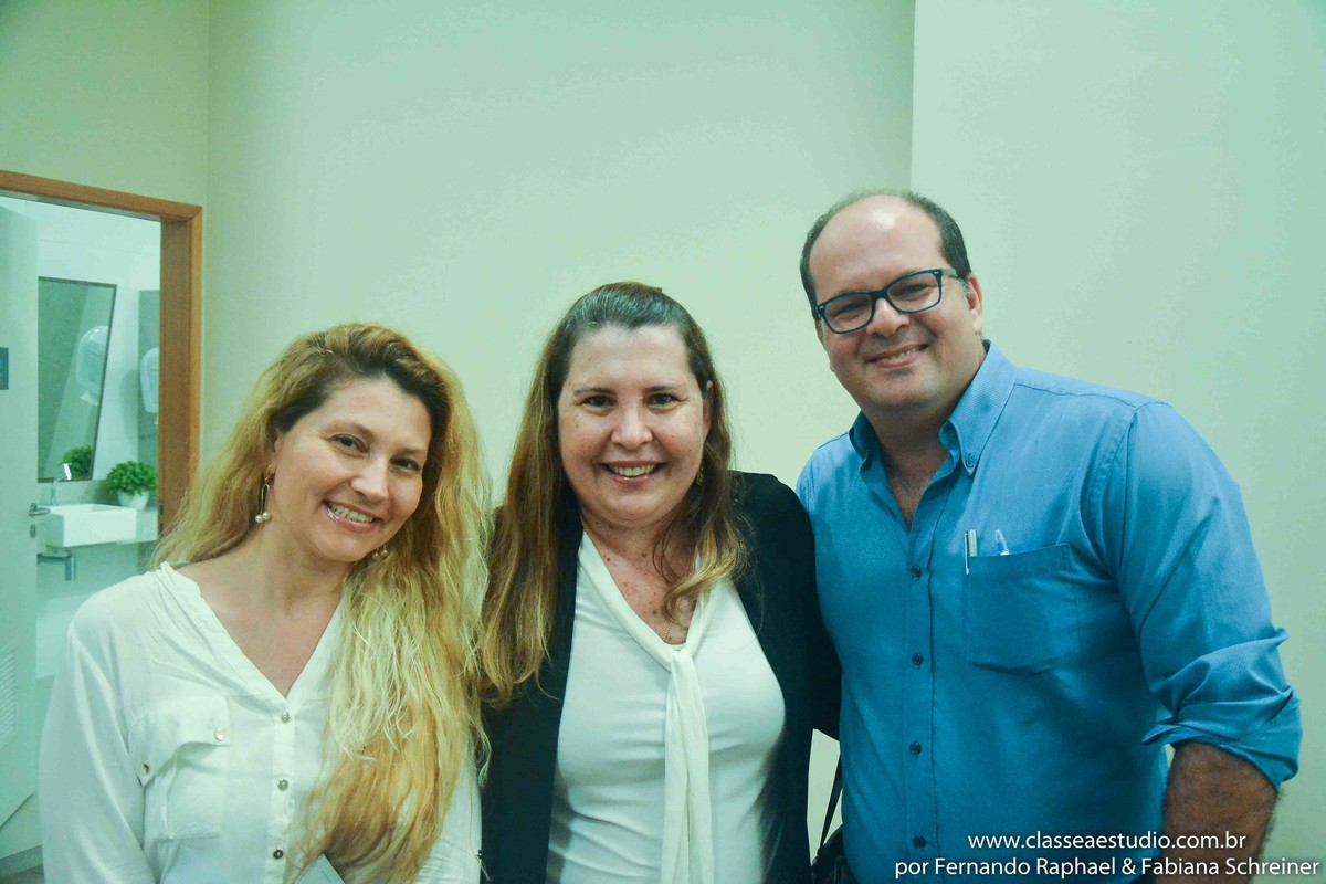 Fabiana Schreiner, Fernanda Bergamo e Fernando Raphael