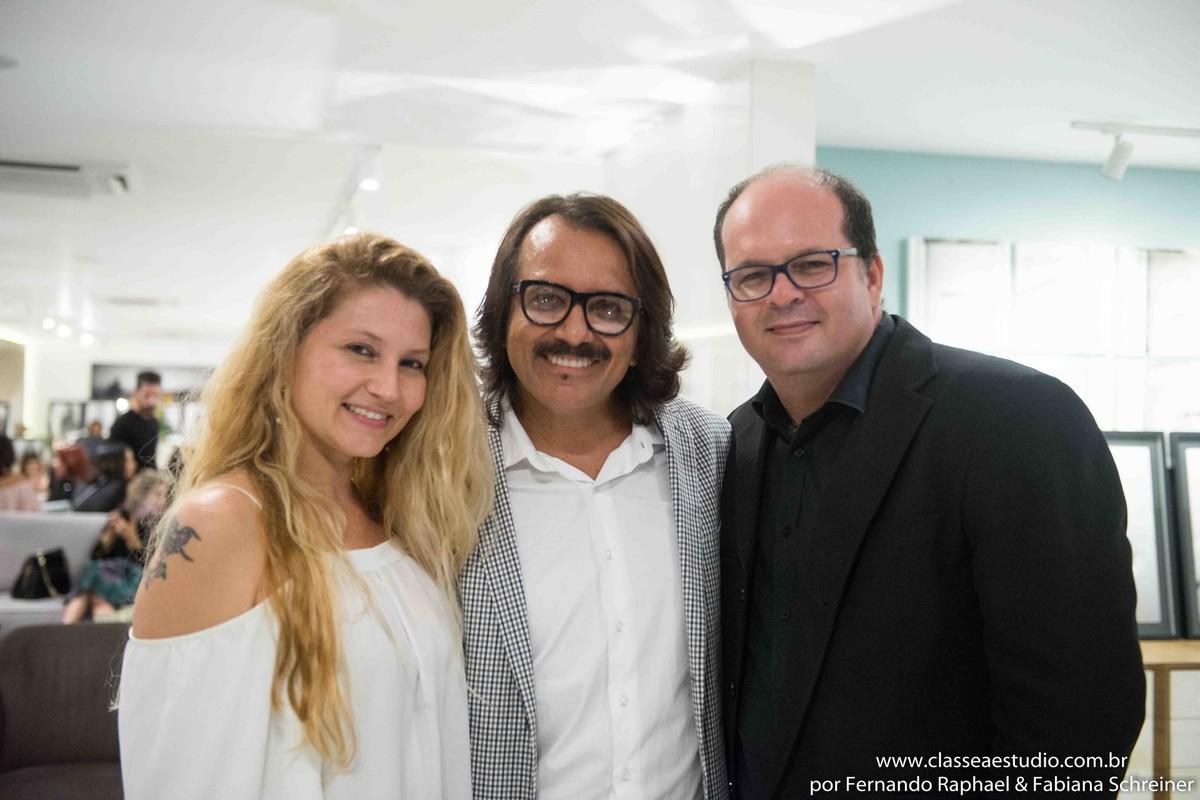 Fabiana Schreiner, Austo Werner e Fernando Raphael