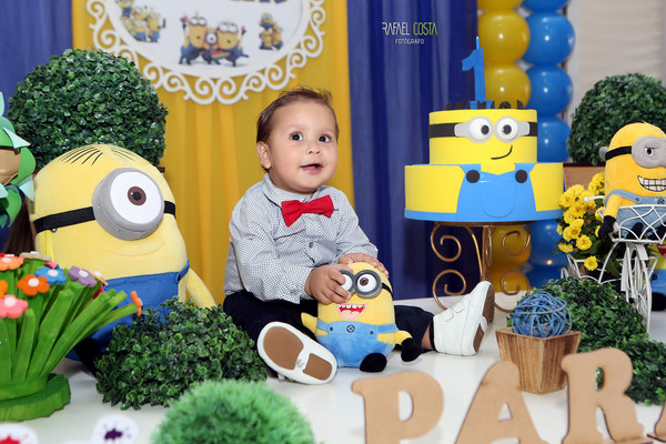 Aniversário Infantil de Isaak 1 aninho