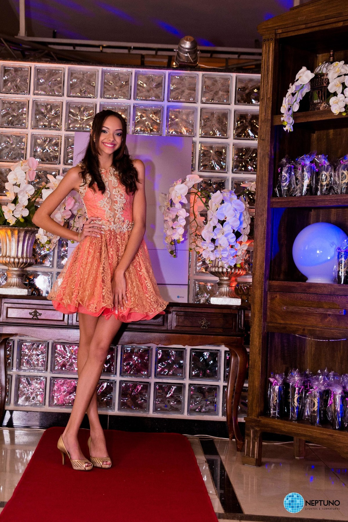 Aniversário 15 anos Larissa Alves  Neptuno Eventos e Formaturas