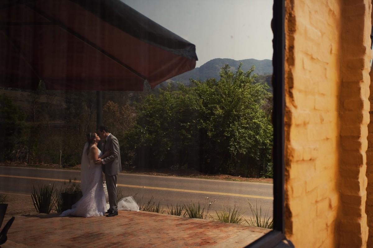 Foto de Patrícia e Flávio