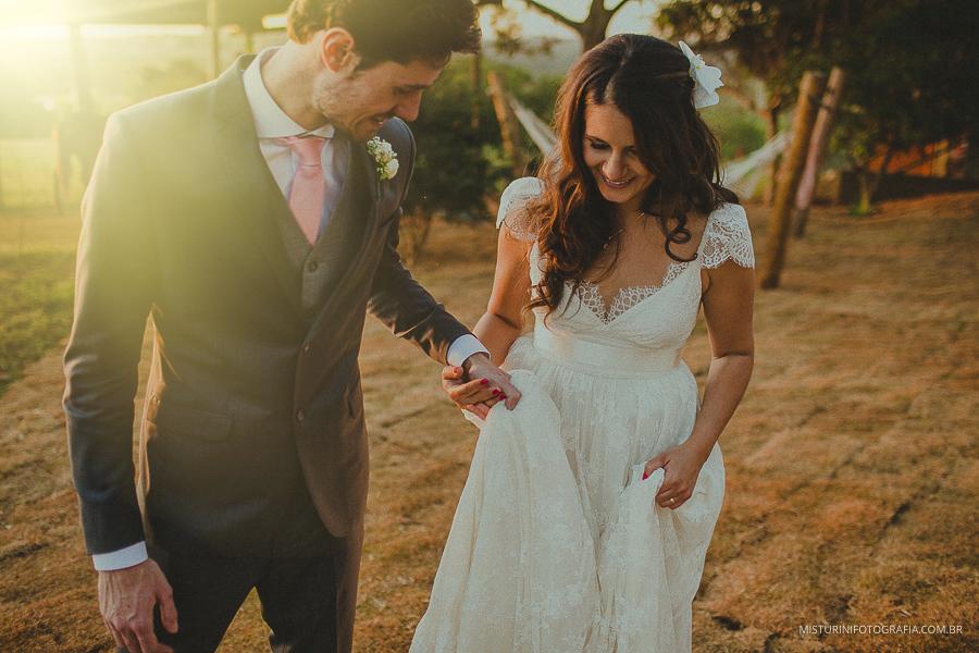 casamento na fazenda noivos