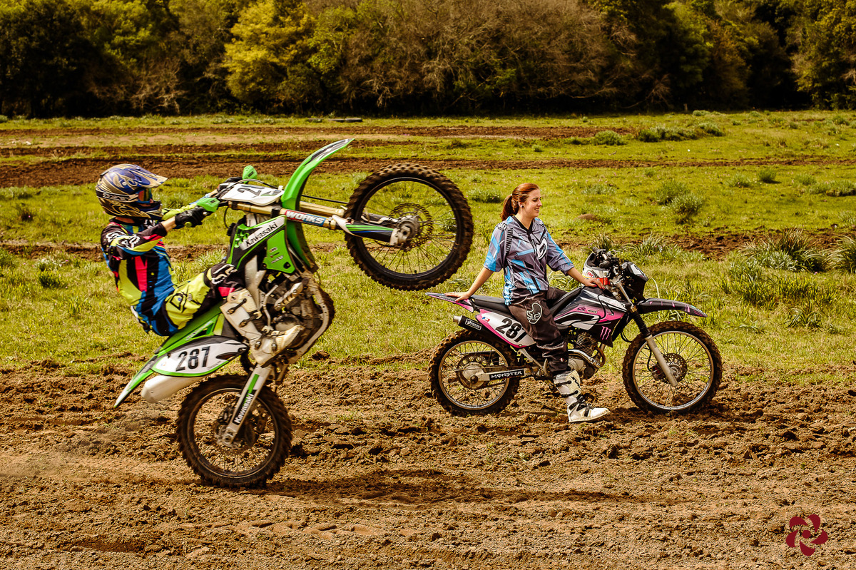 Pré casamento motocross