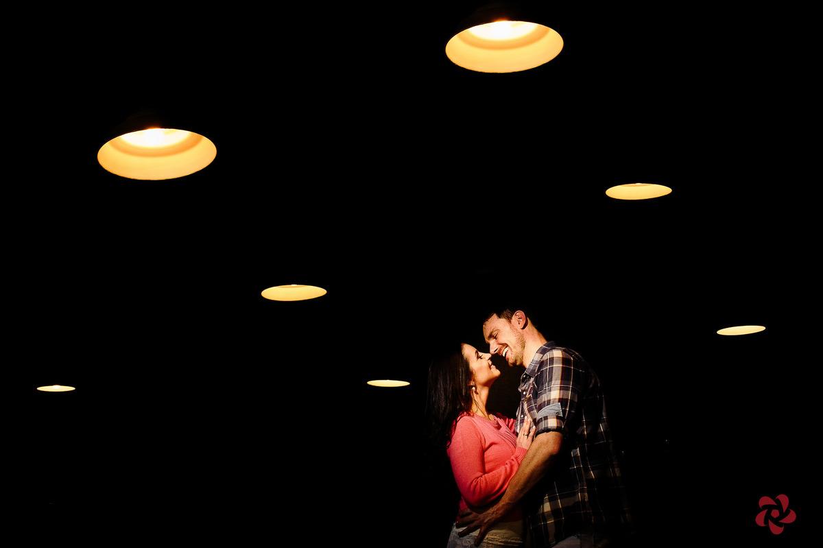 Luz decoração pré casamento