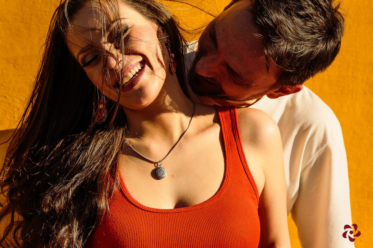 Carinho no pré casamento