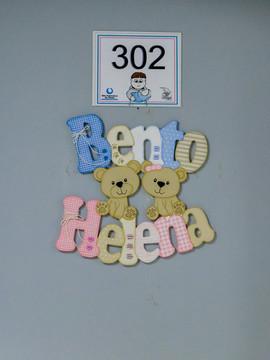 Nascimentos de Helena e Bento em Hospital São Francisco de Paula - Pelotas/RS