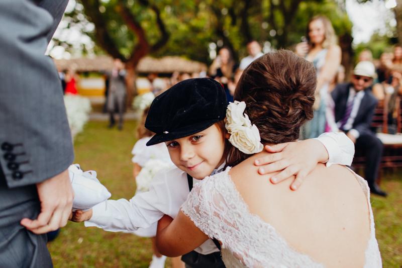 Foto de Livia e Guilherme