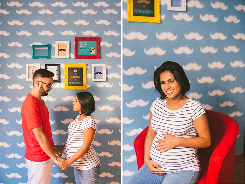 O casal decorou o quarto de seu primeiro bebê com muito carinho, linda decoração do quartinho do primeiro filho. Fotografia de gestante, fotos de gravidas, fotografia de família. Fotografia de família em Itapetininga - SP