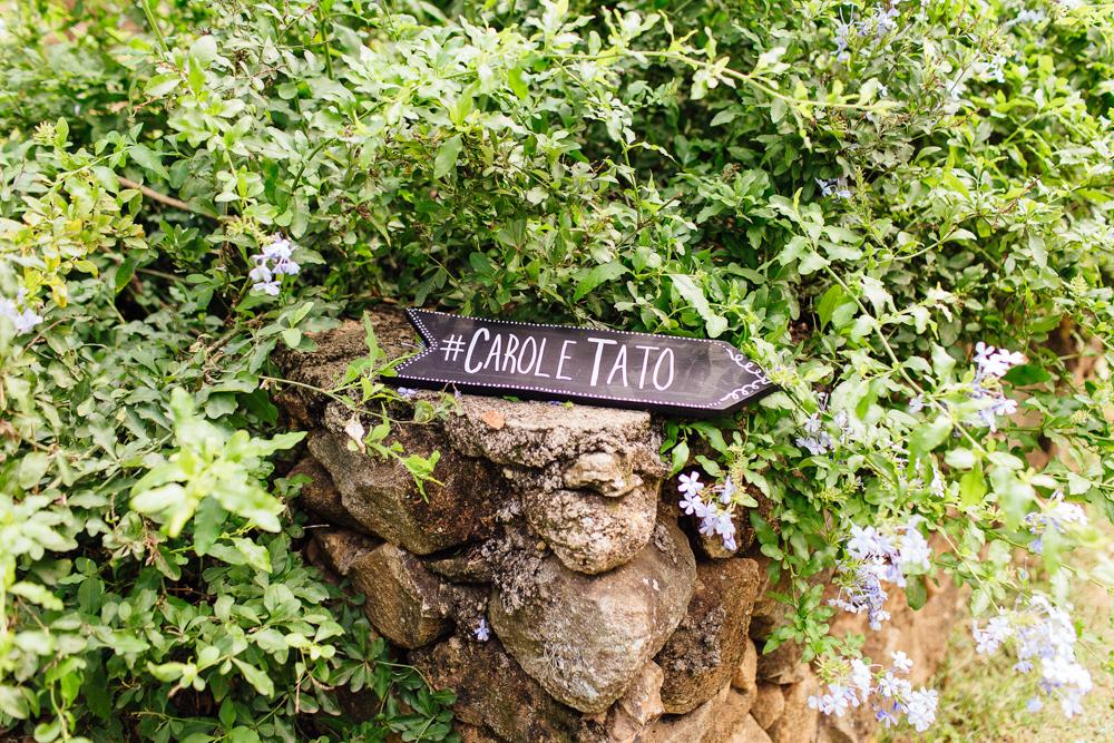 Foto de Carol e Tato