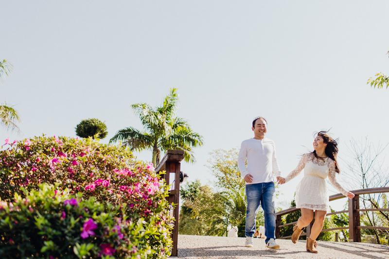 Foto de Vanessa e Hideki
