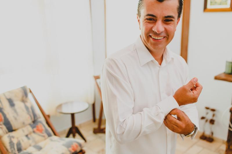O making of do noivo foi no sítio da família, ele estava junto com seu irmão para fazer as fotos de seu making of antes do casamento.