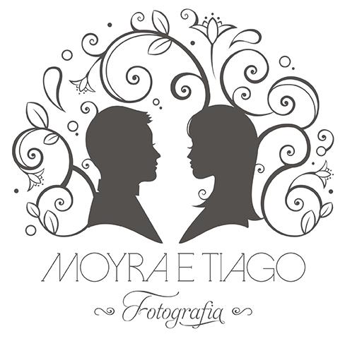 Logotipo de Moyra e Tiago | Fotografia