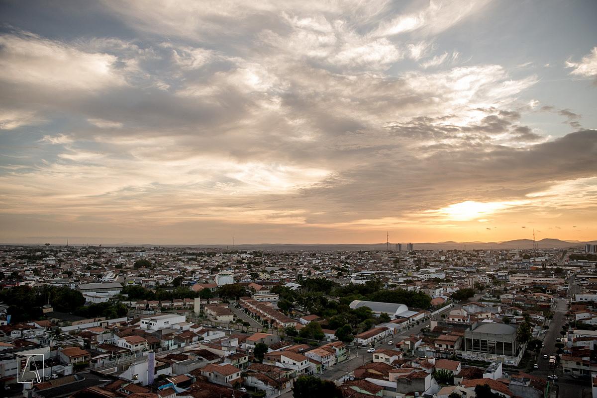 panoramica da cidade de feira de santana vista do hotel atmosfera