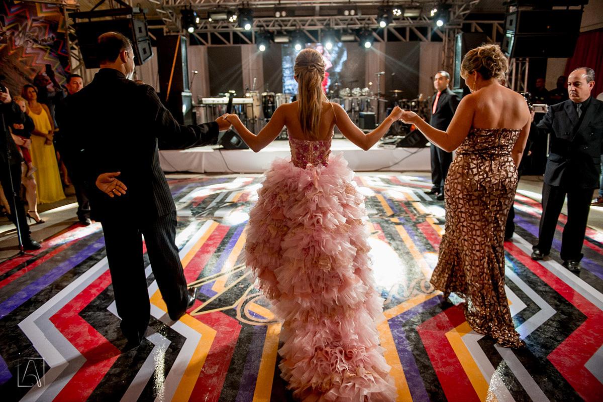 dança da debutante