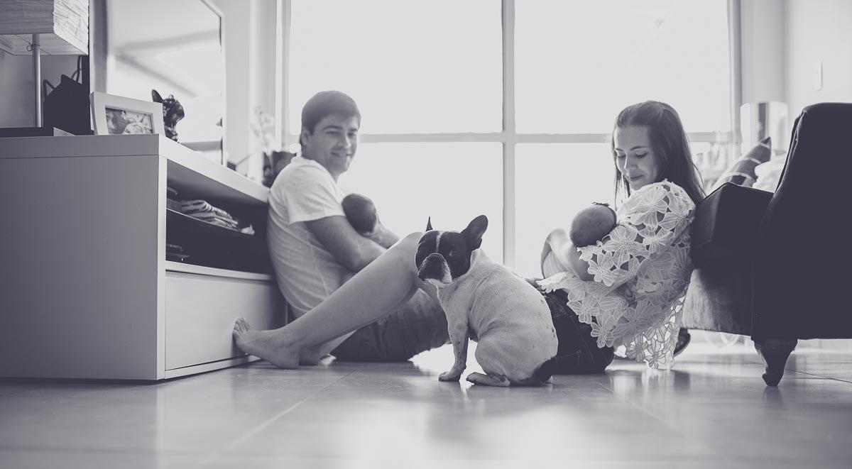 Foto de Família da Olívia e do Romeo