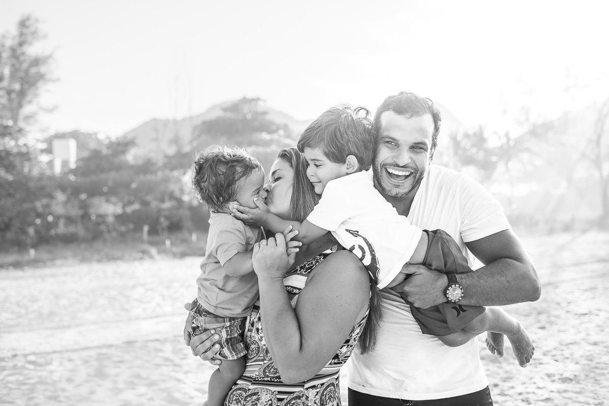 Foto de Família do JP e do Vicente