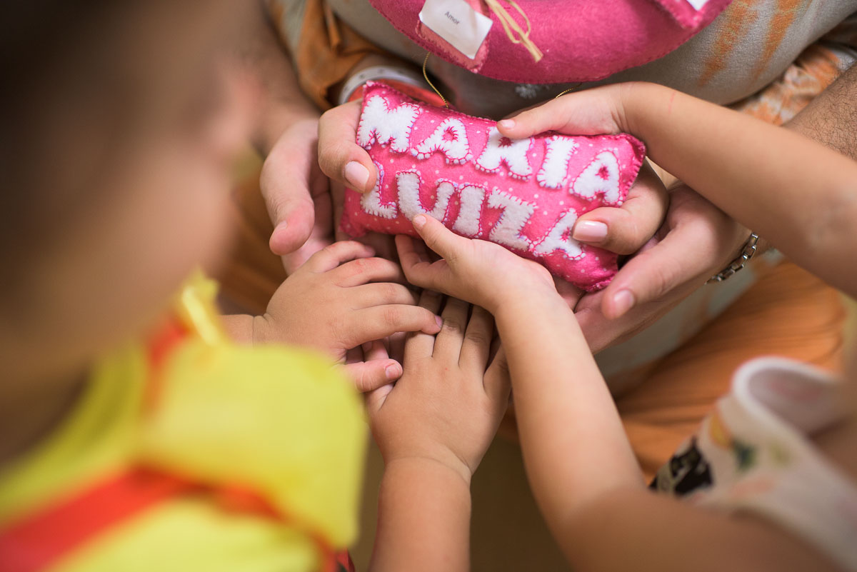 Foto de A chegada de Malu...