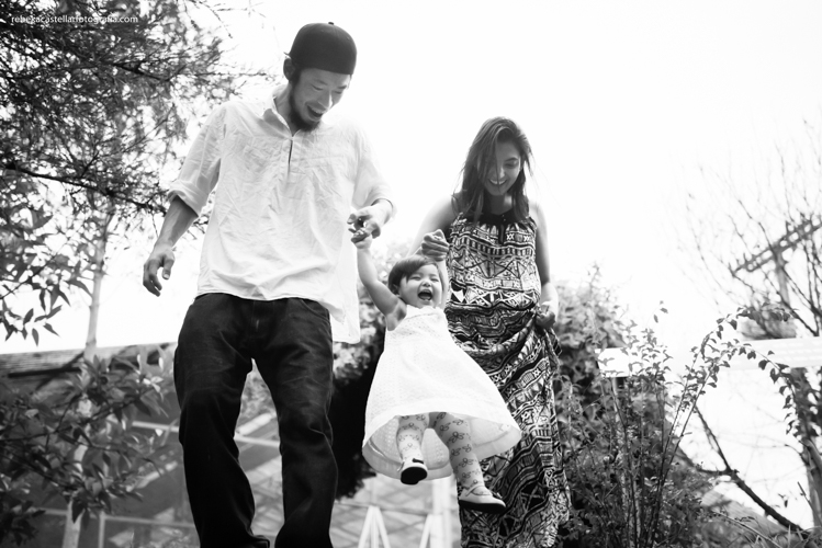 Foto de Rakel, Felipe e Agatha
