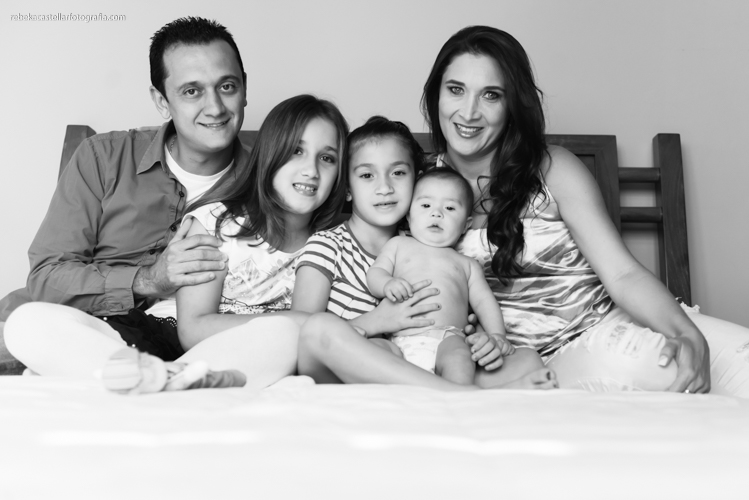 Foto de Lilian, Rafael, Sofia, Nana e Davi