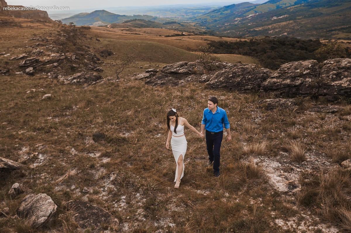 Foto de Cíntia e Allan