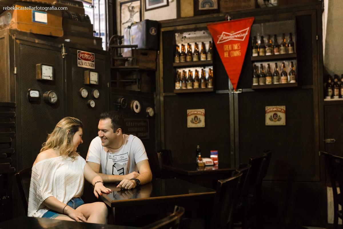 Ensaio no bar Salve Jorge