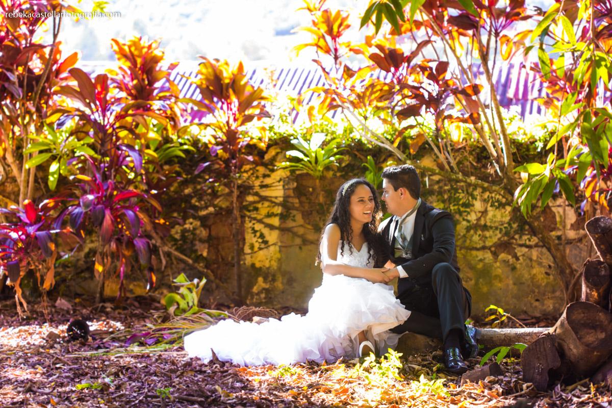 Foto de Renata e Leandro
