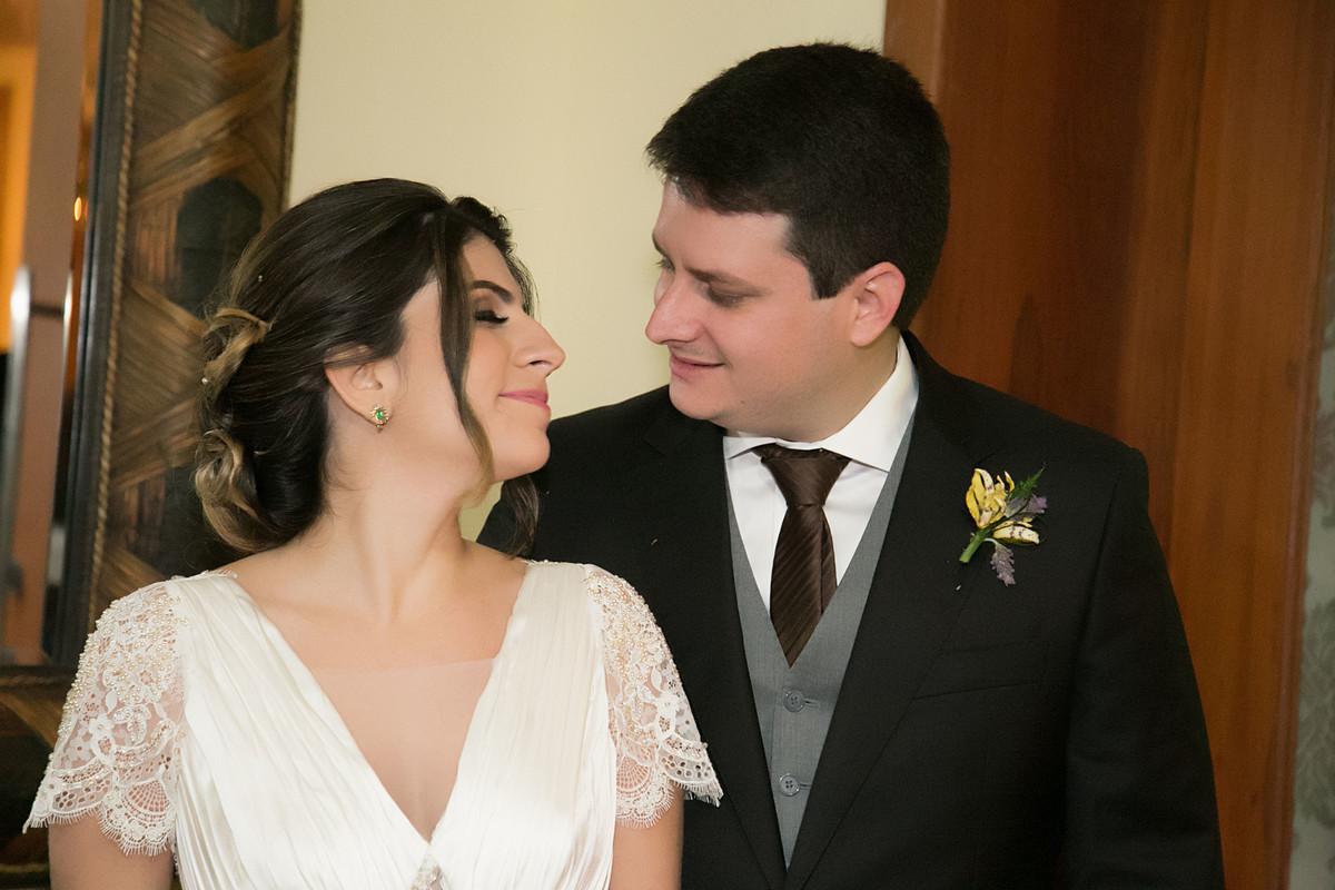 Foto de Carolina e Filipe