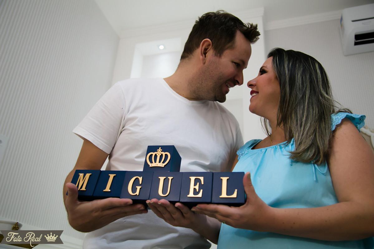 Foto de MIGUEL ESPERADO POR NATHÁLIA E JOÃO PAULO