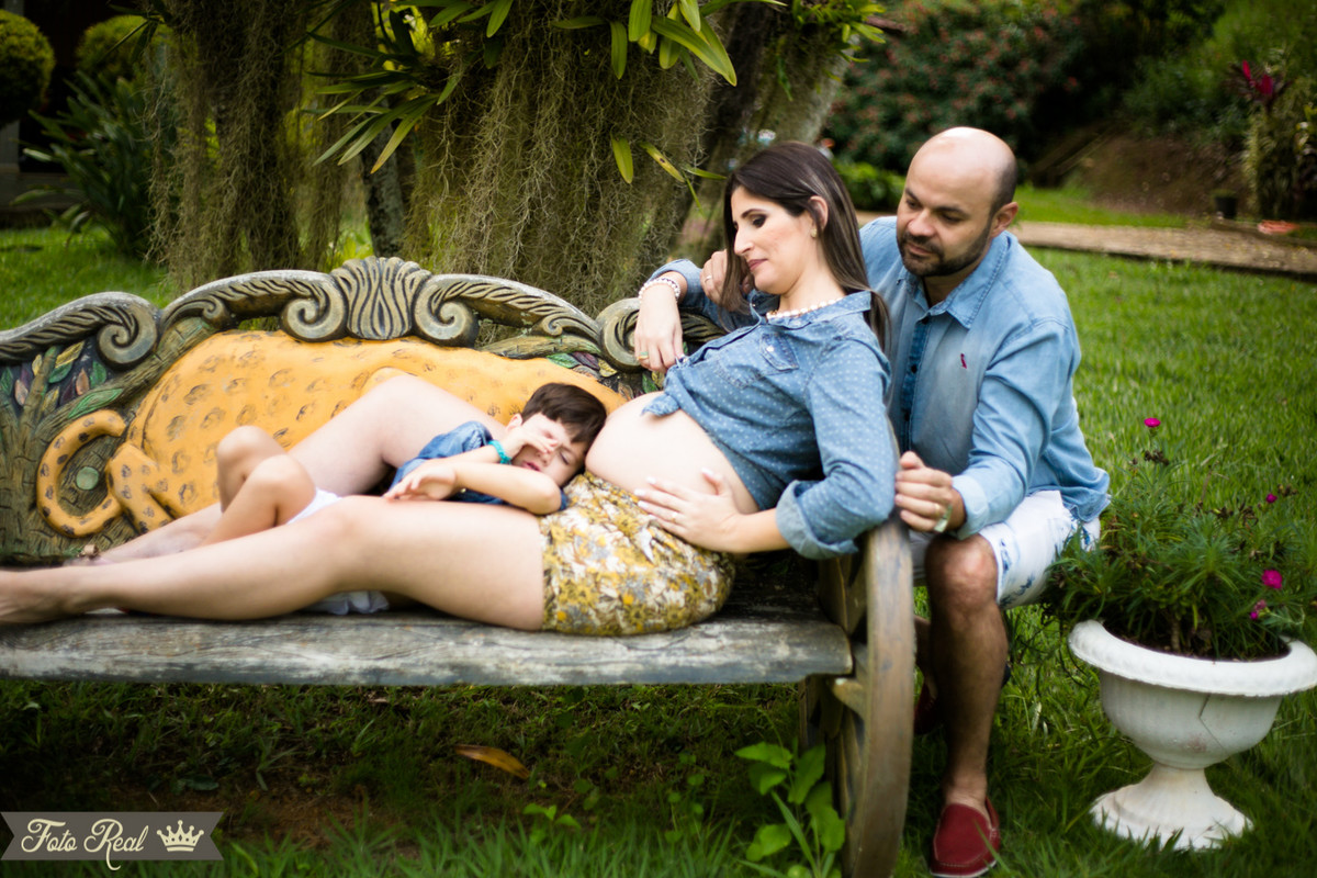 Foto de Vem Maitê , estamos te esperando Renata, Juliano e Arthur