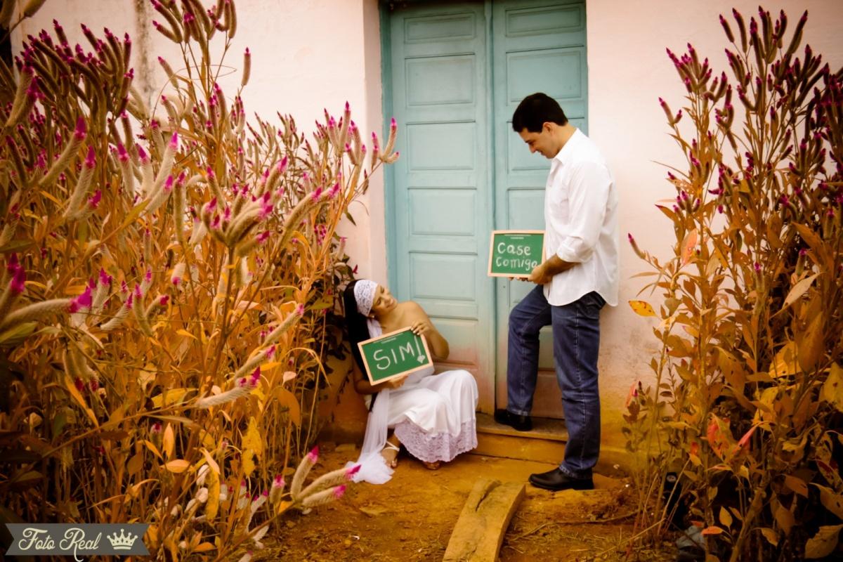 Foto de Annabele e Diogo