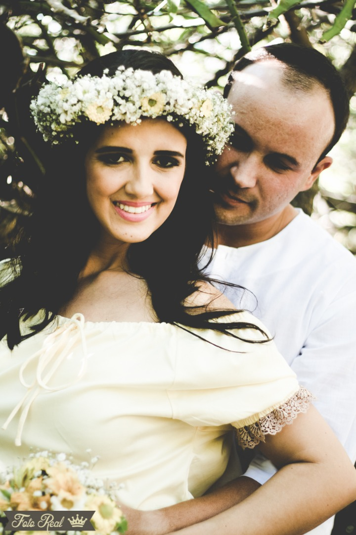 Foto de Sérgio e Monara
