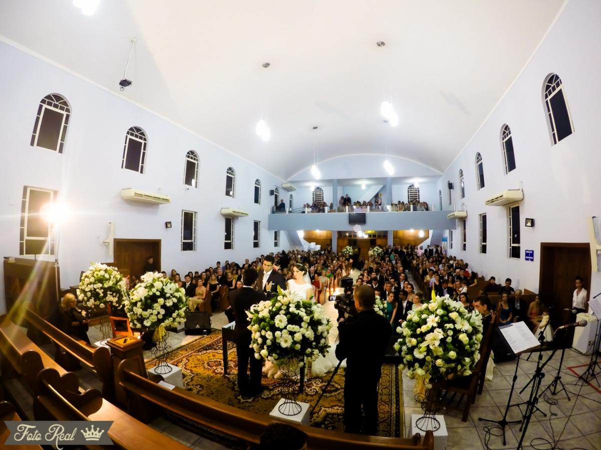 Foto de Bruna e Vinícius