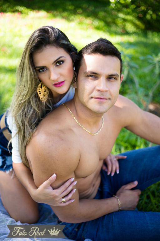 Foto de Mariana e Gustavo