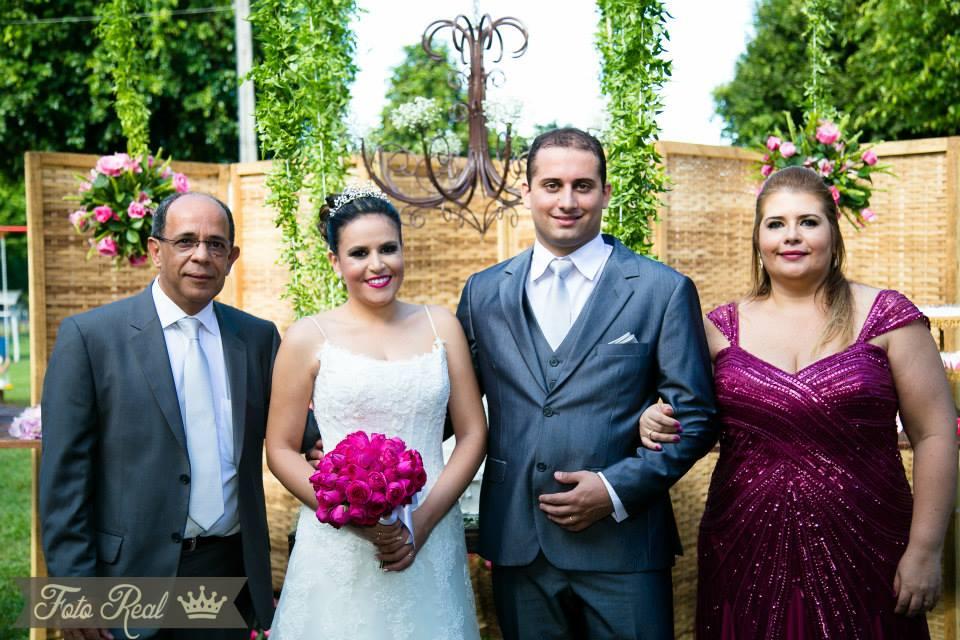 Foto de Luisa e Danilo