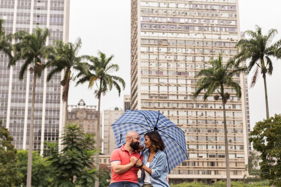 Ensaio Fotográfico Pré wedding Sonia e Rodrigo na cidade de São Paulo,