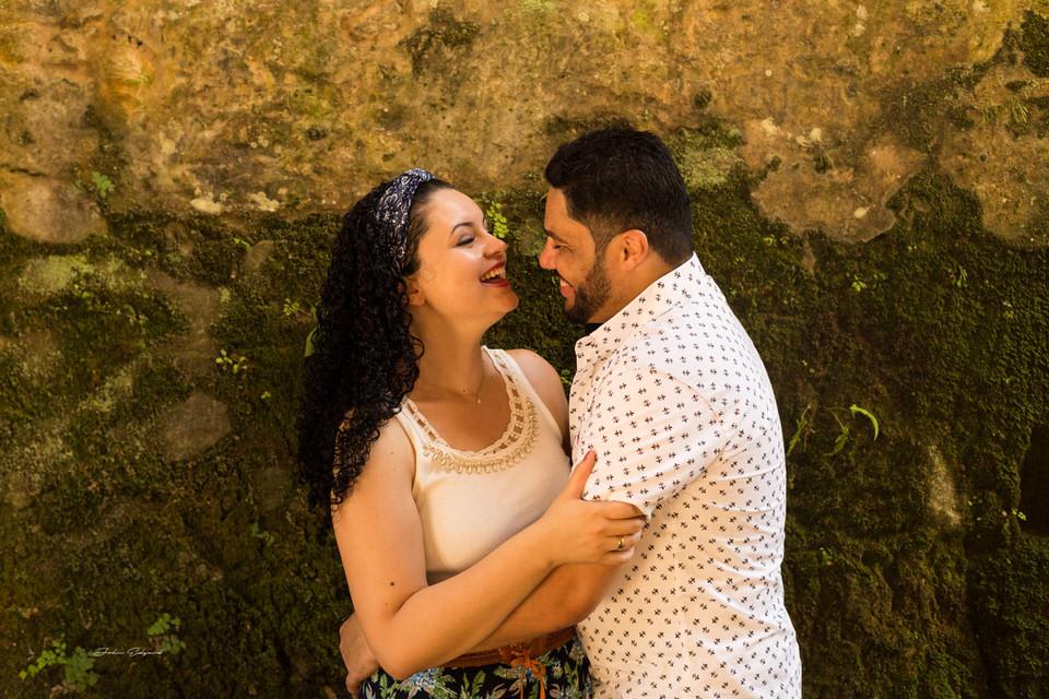 Ensaio pré casamento romântico dos noivos em São Paulo