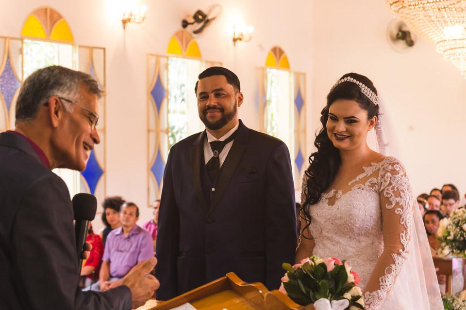 Casamento Aline e Alan no espaço Lá Capella