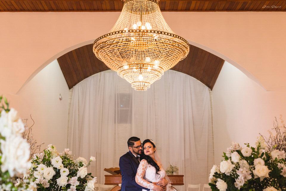 Ensaio romântico no casamento em Poá - SP