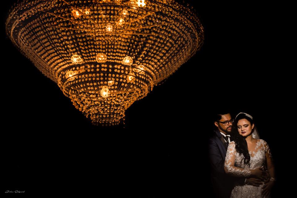 Ensaio romântico no casamento em Poá- SP
